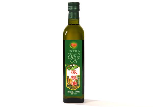 瑞福牌优质初榨橄榄油500ml玻璃瓶装