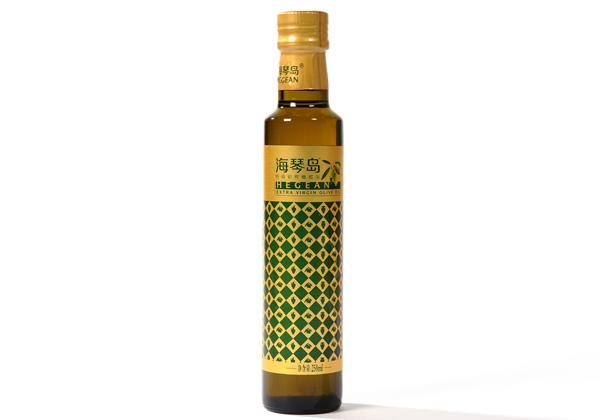 海琴岛优质初榨橄榄油250ml玻璃瓶装